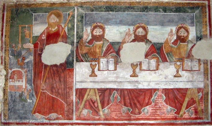 L'altare di S. Antonio